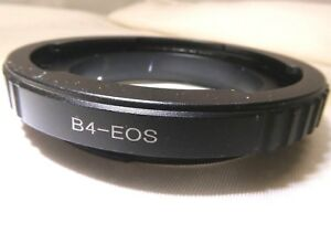 "B4 2/3"" Canon Lens mount adapter ring to EOS EF-S SLR Cameras T6i 70D 80D 5D III"