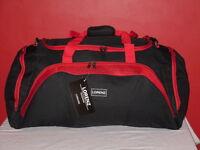 """A 27"""" Holdall Travel Bag With 2 Side Pockets Front Pocket Adjustable Strap"""
