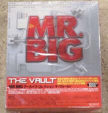 MR. BIG - The Vault 20 CD + 2 DVD BOX SET JAPAN NEW Eric Martin USA SELLER