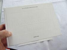 le livre de la manufacture montres JAEGER LE COULTRE - 1995/96, 242 pages
