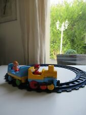 👿 Jeu De Construction Train Avec Rails Playmobil 123 Réf: 6760 Complet 👿