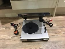 SONY PS-J10 TURNTABLE STEREO AUTO RETURN  VINYL RECORD PLAYER TESTED