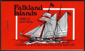 Falkland Islands 260,262,264,265,269, Complete Booklet, MNH. Mail Ships,1978