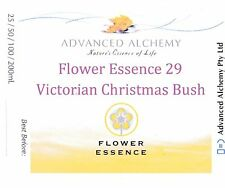 Flower Essence #29 Life Balance - Advanced Alchemy 25ml Victorian Christmas Bush