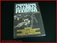 DVD Proper Care AR-15 Cleaning & Feeding Maintenance 7831 Accuracy & Reliability