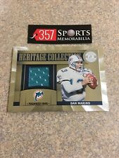 DAN MARINO 2011 TOTALLY CERTIFIED HERITAGE COLLECTION GAME USED JERSEY #D /249