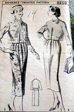 *LOVELY VTG 1950s JACKET & SKIRT ADVANCE Sewing Pattern 14/32