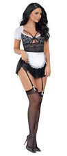 Escante 37555H Private Maid, Black/White, Small