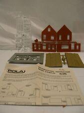 Maquette HO maison au toit de chaume n°536 à monter POLA sans boite  réf: 4145