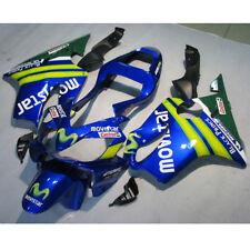 Verkleidung Lacksatz Blau Injection Fairing Für Honda CBR600F4I 2001-2003 4A