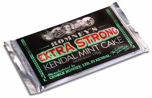 Romney's Kendal Mint Cake Extra Strong 170g x 6