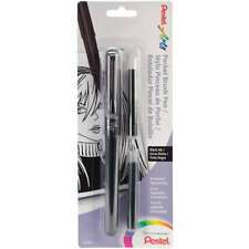 Pocket Brush Pen W/2 Refills Black 072512235904