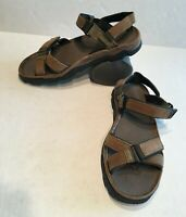Timberland Men's Trail Hiking Sport or Casual Sandals Brown Leather Size 11 M