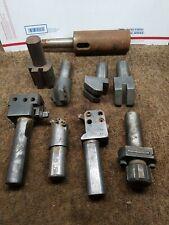 Vintage The Warner Amp Swasey Lathe Tool Lot Of 9 M 331 13 M 1901 3