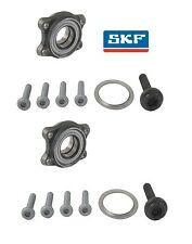 For Audi A6 Quattro Pair Set of 2 Front Wheel Bearing Kits OEM SKF 4F0 498 625 B