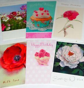 23p BARGAIN BOX! 360 EXCELLENT CARD MIX, 60 designs x 6, quality envelopes