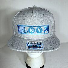 Altos Bodega NY Hat Snapback New York Ball Cap