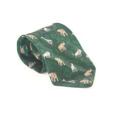 Animal Wide 100% Silk Ties for Men