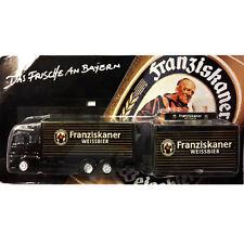 CAMION TRUCK WEISSBIER DGD FRANZISKANER Nr. 05 MAN TG-A Truck-ID: 518 NERO