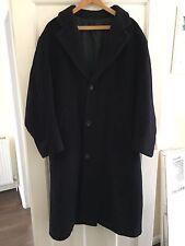 Hugo Boss Pure New Wool Crombie Style Coat Size 44 Regular