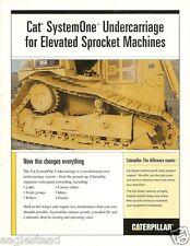 Equipment Brochure - Caterpillar - SystemOne Undercarriage - Track 2004 (E1109)
