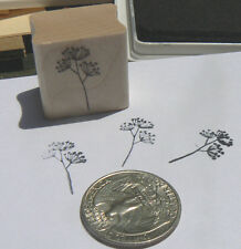 P24 Miniature wildflower, Herb rubber stamp