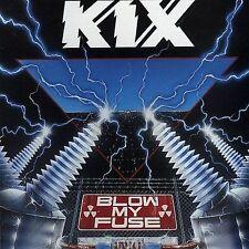 Blow My Fuse by Kix (Metal) (Cassette, Sep-1988, Atlantic (Label))