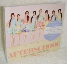 After School Lady Luck / Dilly Dally Taiwan CD+MV DVD+Card (Japanese Language)