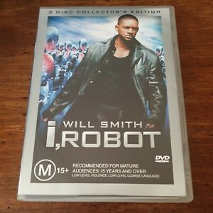 I Robot Will Smith DVD R4 Like New! FREE POST