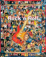White Mountain Puzzles Rock 'N Roll - 1000 Piece Jigsaw Puzzle, New