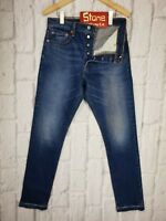 Levi/'s Altered LVC Style 13oz Denim Mid Blue Balloon Jeans Zip Fly W32 £105 New