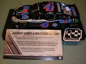 2020 KEVIN HARVICK #4 MOBIL 1 MUSTANG DOVER WIN 1:24 ACTION LIONEL IN STOCK