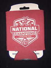 University of Alabama 2015 National Champions Crimson Coozie