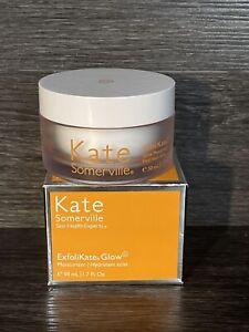 New in Box Kate Somerville Exfolikate Glow Moisturizer 1.7 oz / 50 ml