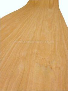 """American Cherry Wood Veneer  2500mm x 310mm  /  98,4"""" x 12,4"""""""
