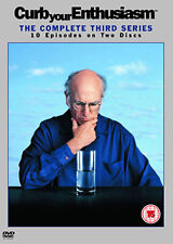 CURB YOUR ENTHUSIASM - SEASON 3 - DVD - REGION 2 UK