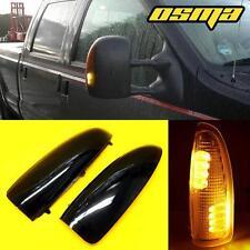 2003-2007 Ford F250/F350/F450 Super Duty Smoke Lens Tow Mirror LED Turn Lights