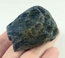 408Ct Natural Unheated Blue Sapphire Corundum Facet Rough Specimen YBG3521