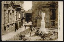 cartolina VASTO monumento ai caduti