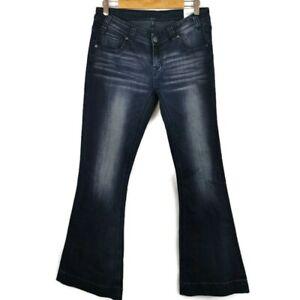 Old Navy Premium Denim Women Boot Cut Stretch Jeans Dark Washed Plus Size 22 NWT