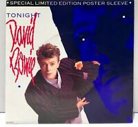 "David Bowie Tonight 45 Vinyl Record 7"" Single Picture Special Limited Ed Poster"