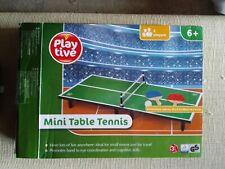 MINI TABLE TENNIS TABLE TOP GAME