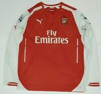 Arsenal Puma #6 Laurent Koscielny Long Sleeve Soccer Jersey Mens Size XL