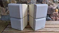 PAAR * Bose Doppelcube Acoustimass Lautsprecher Cube Lifestyle Greyline weiß