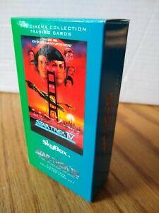 Star Trek IV The Voyage Home  - Complete 72 Card boxed Set - Mint