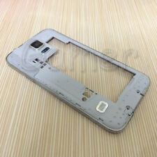 Gold Silver Middle Frame Plate Housing Speaker For Galaxy S5 G900 G900F G900A