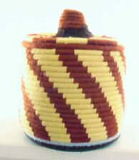 Unbranded Straw Round Decorative Baskets