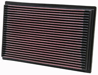 K&N Air Filter Element 33-2080 (Performance Replacement Panel Air Filter)