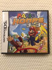 Mario Hoops 3 On 3 ( Nintendo DS ),Complete w/Case & Manual
