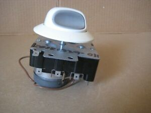 Kenmore Electric Dryer Timer with Knob  #WP8299774, #WP3402594 Genuine OEM